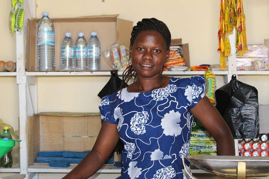 Vrouw in Oeganda Heifer