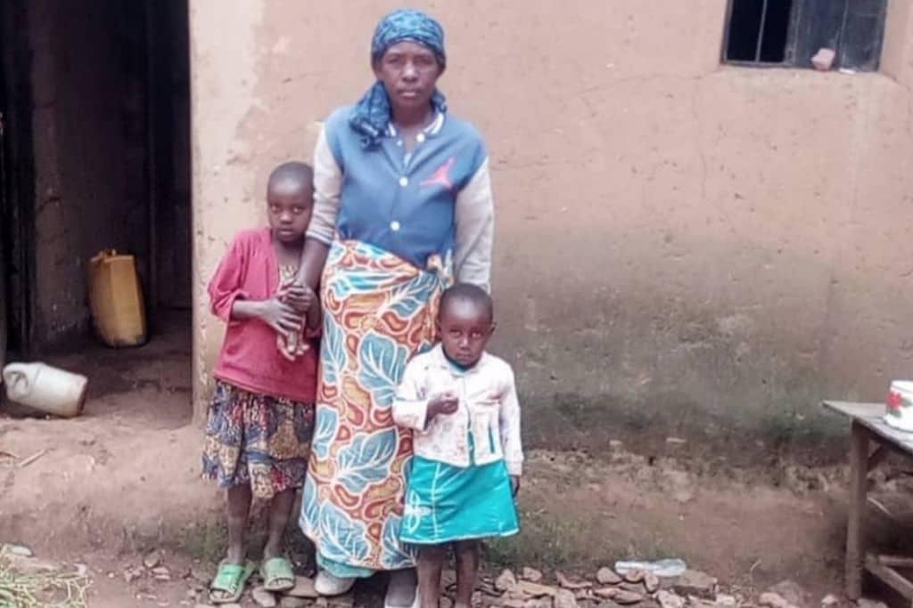 Vrouw met kinderen Heifer
